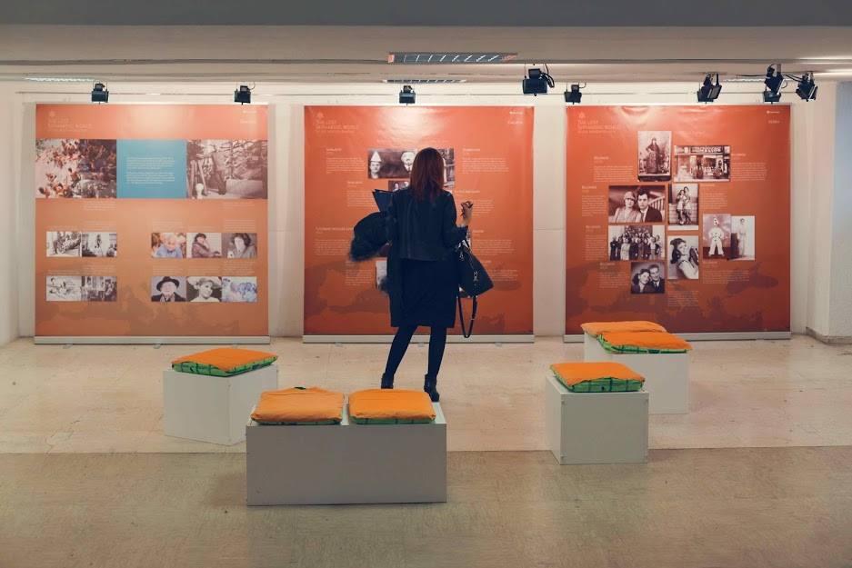 Отворање на изложбата во Белград